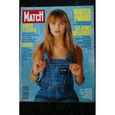 PARIS MATCH N° 2058 1988 Novembre  VANESSA PARADIS COVER + 2 Pages Kennedy et la