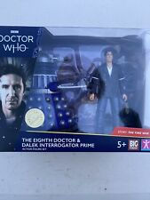 Doctor Who the  8th  Doctor and Dalek  2020 figure Set