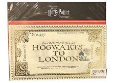Wizarding World of Harry Potter Hogwarts Express Prop Train Ticket Replica 9 3/4