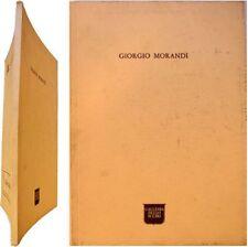 Giorgio Morandi 1976 exposition galleria delllo Scudo peintures Valsecchi Brandi