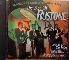 THE BEST OF RUSTONE - cd rock'n'roll doo wop