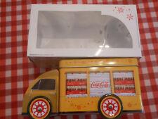 COCA COLA CAMION DE ALUMINIO PROMO SPAIN SPANISH BOTELLA BOX COCHE