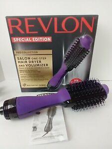 Revlon SPECIAL EDITION PURPLE Pro One-Step Hair Dryer Volumizer Salon Brush