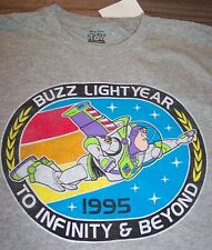 Vintage Style Walt Disney TOY STORY BUZZ LIGHTYEAR T-Shirt LARGE NEW