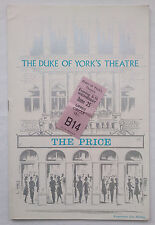 THE PRICE.ARTHUR MILLER.PROGRAMME TICKET 25-6-68 ?.ALAN WHITE.BETH HARRIS.GARY