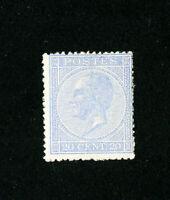 Belgium Stamps # 19a F-VF OG LH Scott Value $460.00