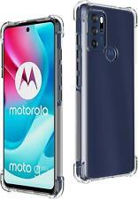 Für Motorola Moto G60S Schutzhülle,Dünne Transparente Silikon Gel Handy
