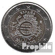 Spanje 2012 Stgl./ongecirculeerd 2012 2 Euro 10 Years Euro Cash