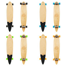 """Two Bare Feet Ribeira 44"""" Pintail Canadian Maple Longboard Skateboard Complete"""