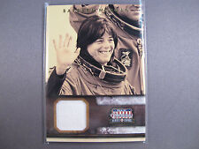 Barbara Morgan Astronaut Relic Space Card 2012 Panini Americana #'D 17/299