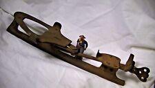 Antique Metal Adjustable Ice Skate Blade B &B