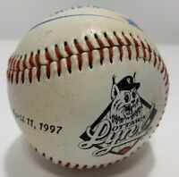 Vintage 1997 Ottawa Lynx Triple AAA Baseball Opening Day Collectible Baseball