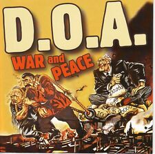 D.O.A. War and Peace NM 2003 Sudden Death Canada SDR-0051 Jello Biafra 25th