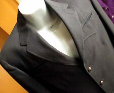 sz 42 True Vtg 50s 60s Mens H Bar C Wool Muted Stripe Charcoal Western Suit 29W