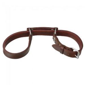 Tough-1 Flat Latigo Leather Horse Hobbles Long Horse Tack 52-4335