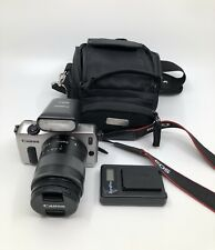 Canon EOS M 18.0 MP Digital Camera Kit with EF-M 18-55mm f/3.5-5.6 STM Lens