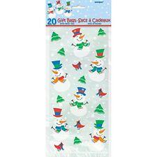Emballages et paquets cadeaux transparents pour Noël