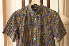 Ben Sherman Men's Cotton Button Down Fitted Casual Shirts & Tops