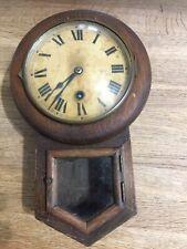 More details for antique hac petite drop dial wall clock 2609