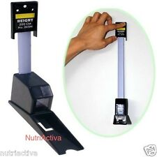 Stadiometer: Wall Mounted Height Meter Growth Ruler CM Metric (not feet/inches)