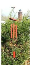 Soothing Genuine Red Wood Bamboo Wind Chimes Lawn Garden Yard Decor Free Ship