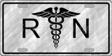 Registered Nurse RN Metal License Plate