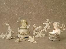 ENGEL Figuren *6er Set* Spieluhr Grabschmuck Skulptur 20024