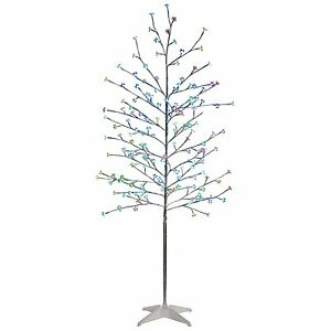 5ft Christmas Twig Tree with Blossoms