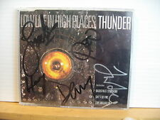 THUNDER Low Life In High Places SIGNED CD SINGLE EMI CDEM 242 relist2nd march 16