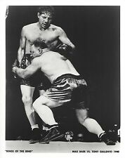 MAX BAER vs TONY GALLENTO 8X10 PHOTO BOXING PICTURE
