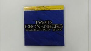 DAVID CRONENBERG Dead Zone/Scanners/The Brood - JAPAN 3LD BOX +obi