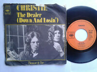 "Christie / The Dealer 7"" Single Vinyl 1973 mit Schutzhülle"