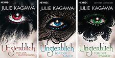 Julie Kagawa Unsterblich Tor der Dämmerung Tor der Nacht Tor der Ewigkeit