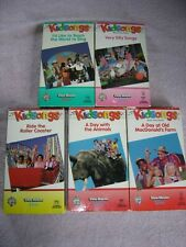 Kidsongs VHS Kids Music Video Lot 1980s 5 Silly Songs Teach World To Sing Animal