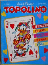 Topolino n°1855 [G.273] - BUONO –