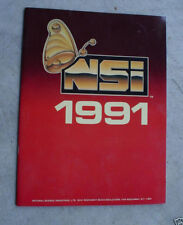 1991 Booklet Natural Science Industries Catalog NSI