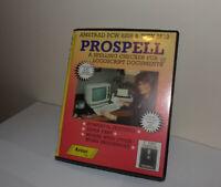 PROSPELL AMSTRAD PCW 8256 8512 CHECKER PROGRAM COMPLETE