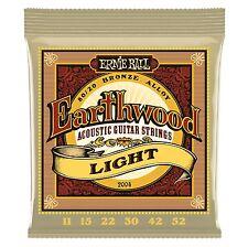 Ernie Ball Earthward 2004 Acoustic Guitar Strings 80/20 BRONZE ALLOY Light 11-52
