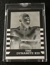 1987 Topps WWF Topps Vault Mask Negative #20 The Dynamite Kid Wrestling WWE 1/1