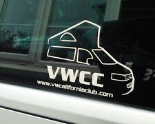 VW CALIFORNIA Club Ufficiale Auto Adesivo Decalcomania Adesivo [001]