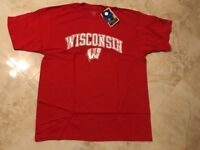 University of Wisconsin Badgers T-shirt XL Red Cool Heisman Collection NCAA