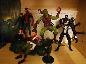 Marvel Diamond Select Lotto venom Goblin Spiderman Mary Jane