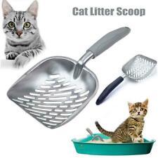 Stainless Steel Pet Cat Litter Spade Heavy Kitten Dog Poop Sand Clean Scooper AU