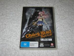 Chaos Head Collection - 2 Disc - Like New - Manga - Anime - Region 4 - DVD