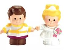 Fisher Price Little People Disney Cinderella & Prince Charming 2012 NIP
