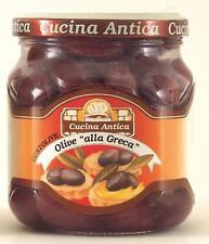 "Cucina Antica - Sicilian ""Gaeta"" Olives - 280 g (Pack of 2 Glass Jars) [Misc.]"