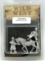 Artizan AWW029 Deputy Stoops (Wild West) Mounted & Foot Gunslingers Lawmen NIB