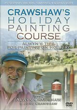 CRAWSHAW'S HOLIDAY PAINTING COURSE DVD TIPS FOR PAINTING ON HOLIDAY