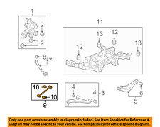 Cadillac GM OEM 08-11 CTS Rear-Adjust Link 25958229