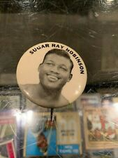 SUGAR RAY ROBINSON MIDDLEWEIGHT CHAMP BOXING PM10 STADIUM PIN PINBACK BUTTON